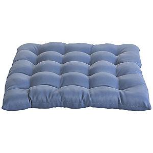 Inky Blue Weatherproof Cushion
