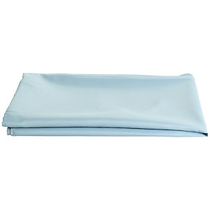 Ocean Blue Oblong Waterproof Tablecloth with Opening