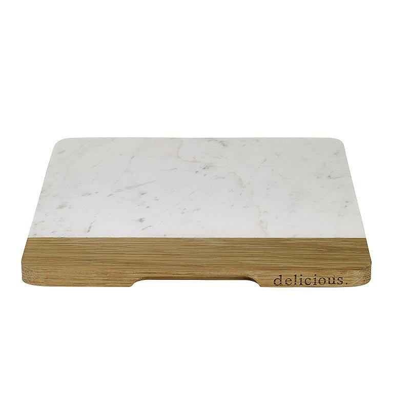 delicious. Oak & Marble Board