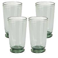 Glaseffekt Picknickgläser aus Melamin - Wasserbecher 4er-Set