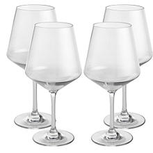 Party Proof Plastic Small Wine Goblet x 4