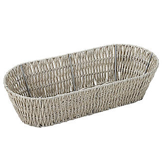 Rustic Oval Basket