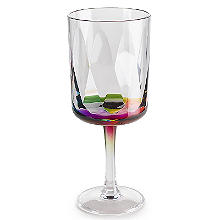Kaleidoscope Unbreakable Plastic Picnicware Large Wine Goblet 400ml