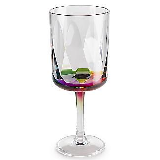 Kaleidoscope Unbreakable Plastic Picnicware Large Wine Goblet 400ml