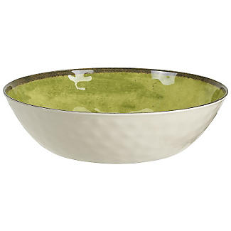 Tivoli Melamine Salad Bowl - Moss Green