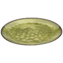 Tivoli Dinner Melamine Plate - Moss Green