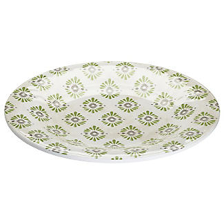 Tivoli Melamine Side Plate - Patterned