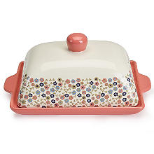 Ditsy Blossom Butter Dish