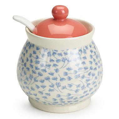 Ditsy Blossom Jam Pot