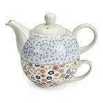 Ditsy Blossom Tee für Einen