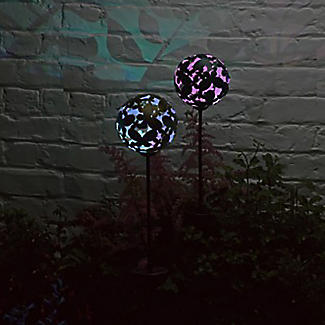 2 Smart Solar Butterfly Stake Lights alt image 2