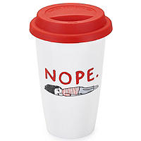 Gemma Correll 'NOPE' Travel Mug