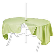 Waterproof Oblong Tablecloth Moss
