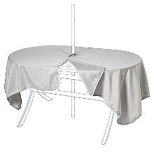 Waterproof Oblong Tablecloth Stone