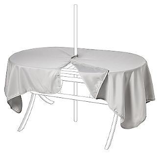 Waterproof Oblong Tablecloth Stone