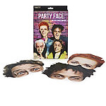 6 Party Face Party Masks