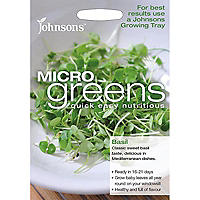Johnsons MicroGreens Basil