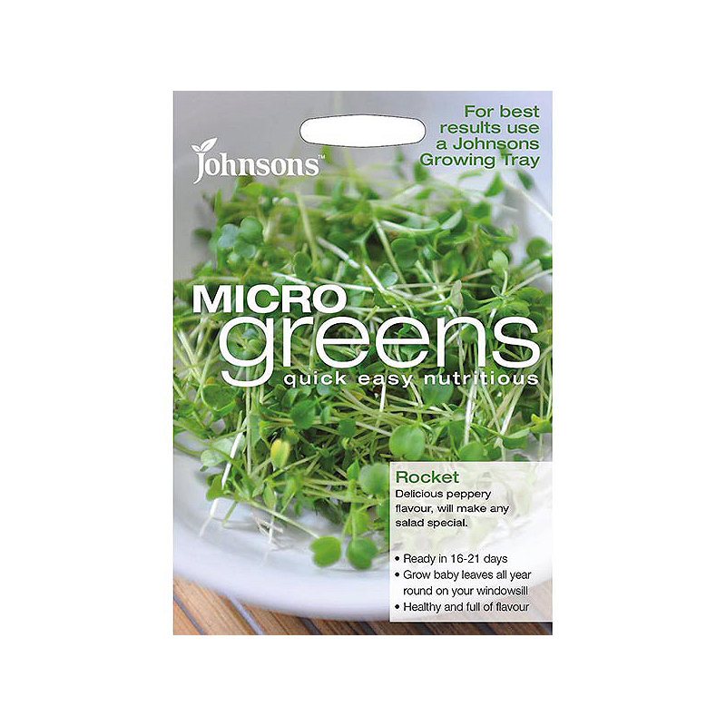 Johnsons MicroGreens Rocket