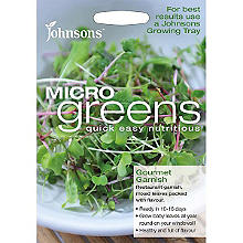 Johnsons MicroGreens Gourmet Garnish