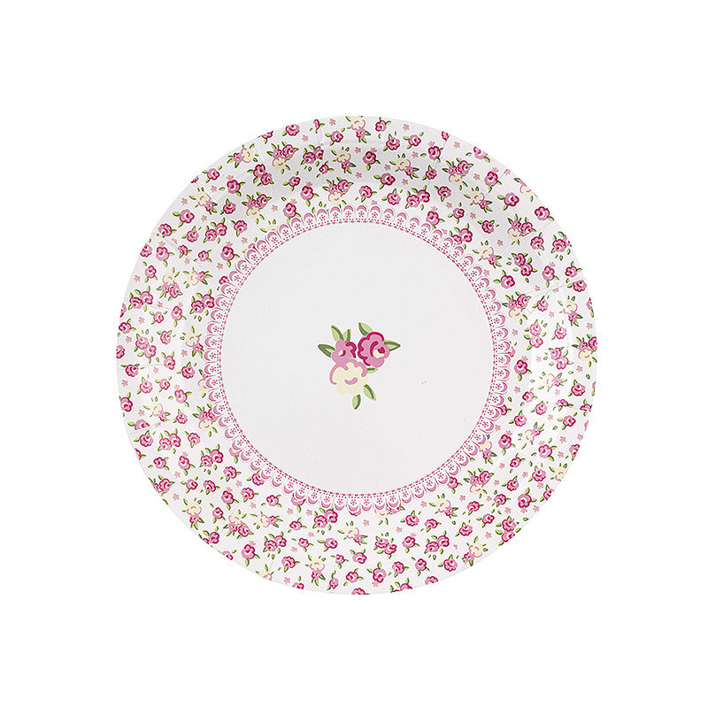 Frills and Spills 8 Paper Plates