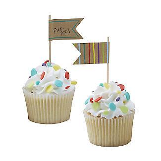 Happy Birthday 10 Food Flags