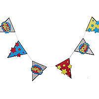 Comic Superhero Bunting