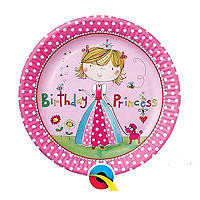 Rachel Ellen Princess 8 Paper Plates