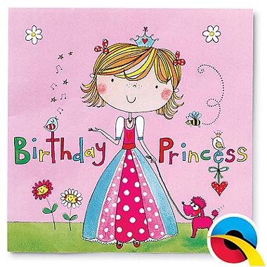 Rachel Ellen Princess 20 Paper Napkins