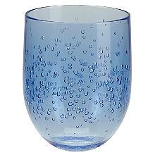 Amalfi Kleines Trinkglas in Blau