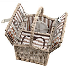 Loop Handle Picnic Basket For Two