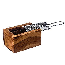 Just Slate Rustic Cheese Grater Set