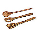 Just Slate Rustic Large Utensil Set