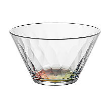 Kaleidoscope Virtually Unbreakable Plastic Serving Bowl 620ml