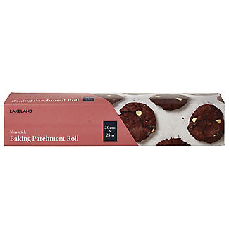 Lakeland Baking Parchment Roll in Cutter Box 30cm x 25m