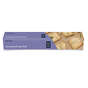 Greaseproof Food Wrapping Paper Roll 38cm x 25m