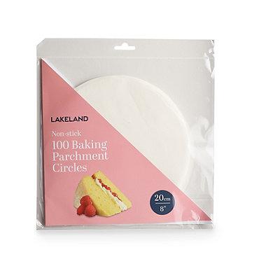 20cm Baking Parchment Circles