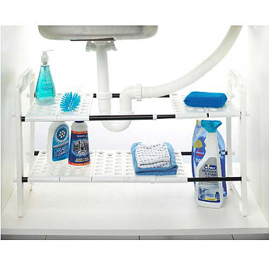 Under Sink Storage Shelves