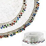 Lakeland 23cm Beaded Bowl Cover