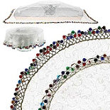 Lakeland 15cm Beaded Bowl Cover