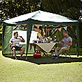 Gazebo With 4 Side Panels