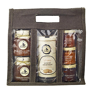 Mrs Bridges® Large Chutney Jute Bag alt image 1