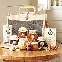 Mrs Bridges® Large Jute Hamper