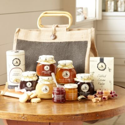 Mrs Bridges Large Jute Hamper