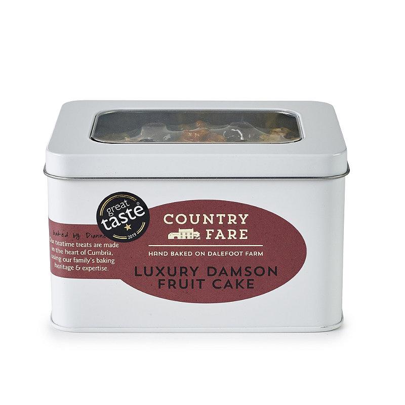 Country Fare Luxury Damson Cake
