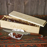 Chorizo & Knife Gift Set