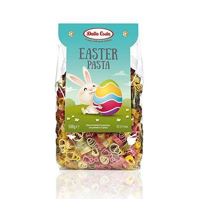 Dalla Costa Easter Tricolour Pasta Shapes 500g