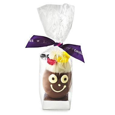 James' Milk Chocolate Egg Head