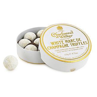 Charbonnel et Walker White Marc de Champagne Truffles