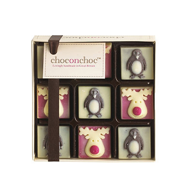 Choc on Choc Reindeer & Penguins