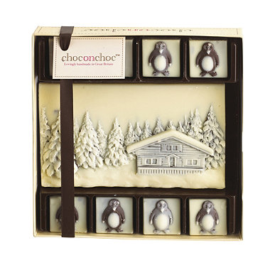 Choc on Choc Snow Scene